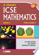 S  Chand   s ICSE Mathematics Class  X