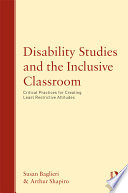 Disability Studies and the Inclusive Classroom