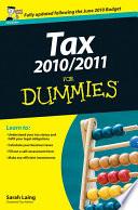 Tax 2010   2011 For Dummies
