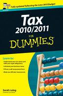 Tax 2010 / 2011 For Dummies