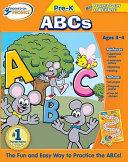 Hooked on Phonics Pre K ABCs Workbook