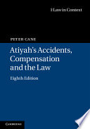 Atiyah s Accidents  Compensation and the Law