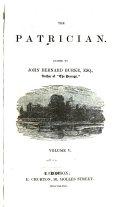 download ebook the patrician pdf epub