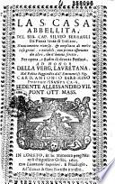 La S. casa abbellita, del sig. cap. Silvio Serragli,... [Préf. par Felice Alaleone et Simon Carlo Nelli]