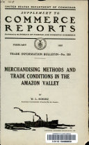 Merchandising methods and trade conditions in the Amazon Valley