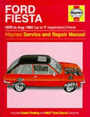 Ford Fiesta 1976 83 Service And Repair Manual