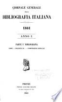 Giornale generale della bibliografia italiana
