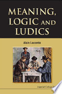 Meaning  Logic and Ludics
