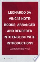 Leonardo da Vinci s note books