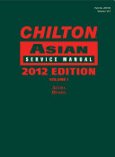 Chilton Asian Service Manual