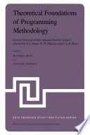 Theoretical Foundations of Programming Methodology