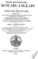 Grand Dictionnaire Français-anglais Et Anglais-français