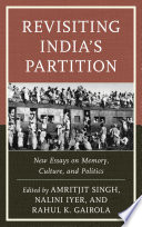 Revisiting India s Partition