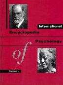 International Encyclopedia of Psychology