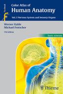 Color Atlas of Human Anatomy, Vol. 3
