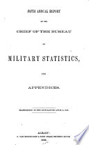 Annual Report of the Bureau of Military Record of the State of New York