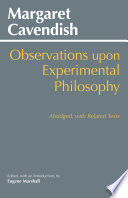 Observations upon Experimental Philosophy  Abridged