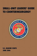 Small Unit Leaders  Guide to Counterinsurgency