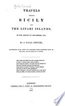 Travels through Sicily and the Lipari Islands  in the month of December  1824
