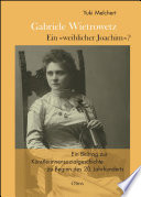 """Gabriele Wietrowetz - ein """"weiblicher Joachim"""" ?"""