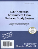 CLEP American Government Exam Flashcard Study System
