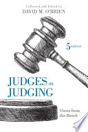 Judges on Judging