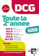 Dcg Toute La 2e Ann E Du Dcg 2 4 5 6 10 En Fiches R Vision