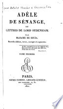Adèle de Sénange; ou, Lettres de lord Sydenham