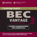 Cambridge BEC Vantage 3 Audio CD Set (2 CDs)