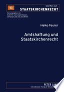 Amtshaftung und Staatskirchenrecht
