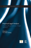 Empirical Legal Analysis