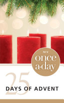 NIV, Once-A-Day: 25 Days of Advent Devotional, eBook Book