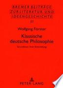Klassische deutsche Philosophie