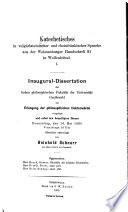 Katechetisches in vulgärlateinischer und rheinfränkischer Sprache aus der Weissenburger Handschrift 91 in Wolffenbüttel