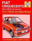 Fiat Cinquecento Service and Repair Manual