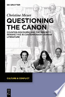Questioning The Canon