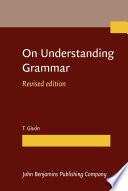 On Understanding Grammar