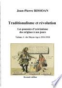 Traditionalisme et R    volution