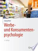 Werbe  und Konsumentenpsychologie