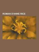 Roman D'Anne Rice