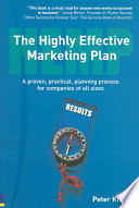 The Highly Effective Marketing Plan