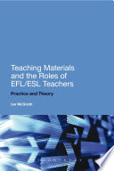 Teaching Materials and the Roles of EFL ESL Teachers