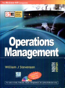 Operations Mgmt With Std Dvd Sie 9e