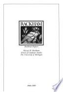Rackham Reports