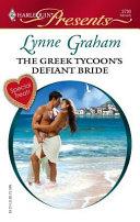 The Greek Tycoon s Defiant Bride