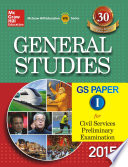 General Studies Paper I for Civil Services Preliminary Examinations