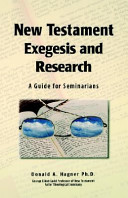 New Testament Exegesis and Research