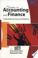 Studies in Accounting and Finance