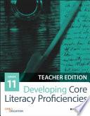 Developing Core Literacy Proficiencies  Grade 11