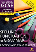 English Language and Literature Spelling, Punctuation and Grammar